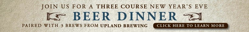 New Year's Beer Dinner