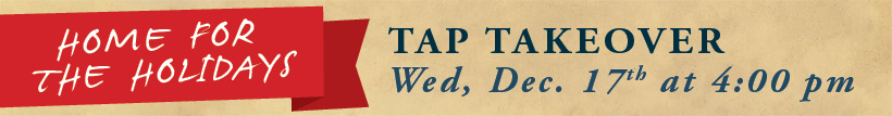 Tap Take Over Holidays