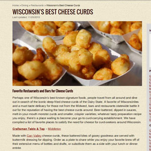 Best Cheese Curds Article